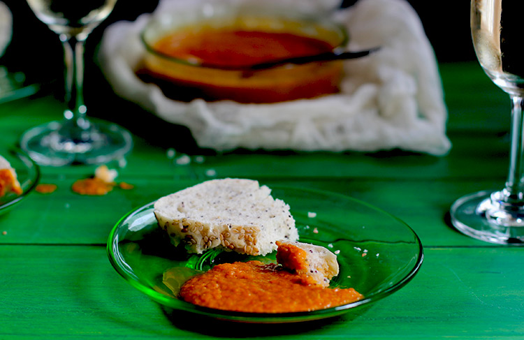 Roasted-Red-Bell-Pepper-and-Basil-Sauce