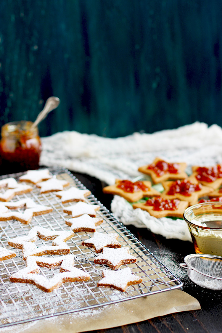 Spiced Linzer Cookies Recipes — Dishmaps