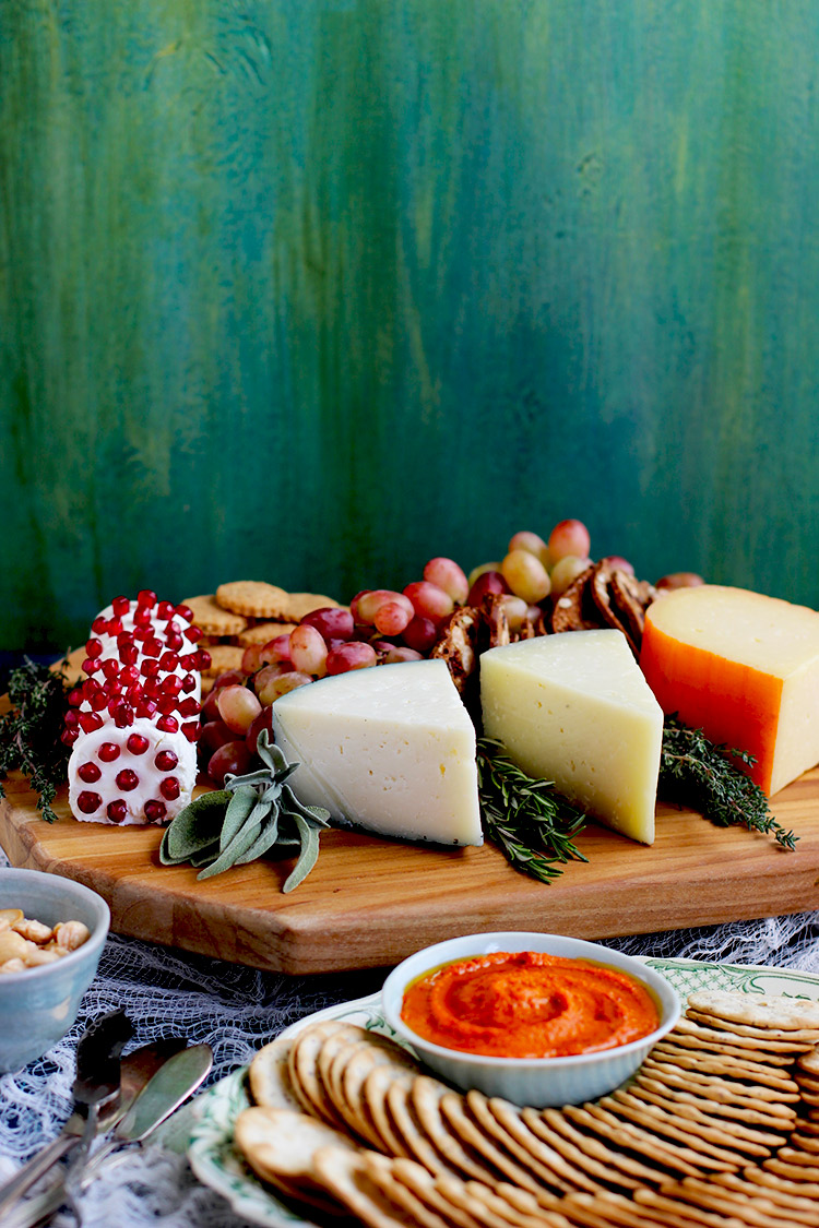 Spanish-Style-Cheese-Board