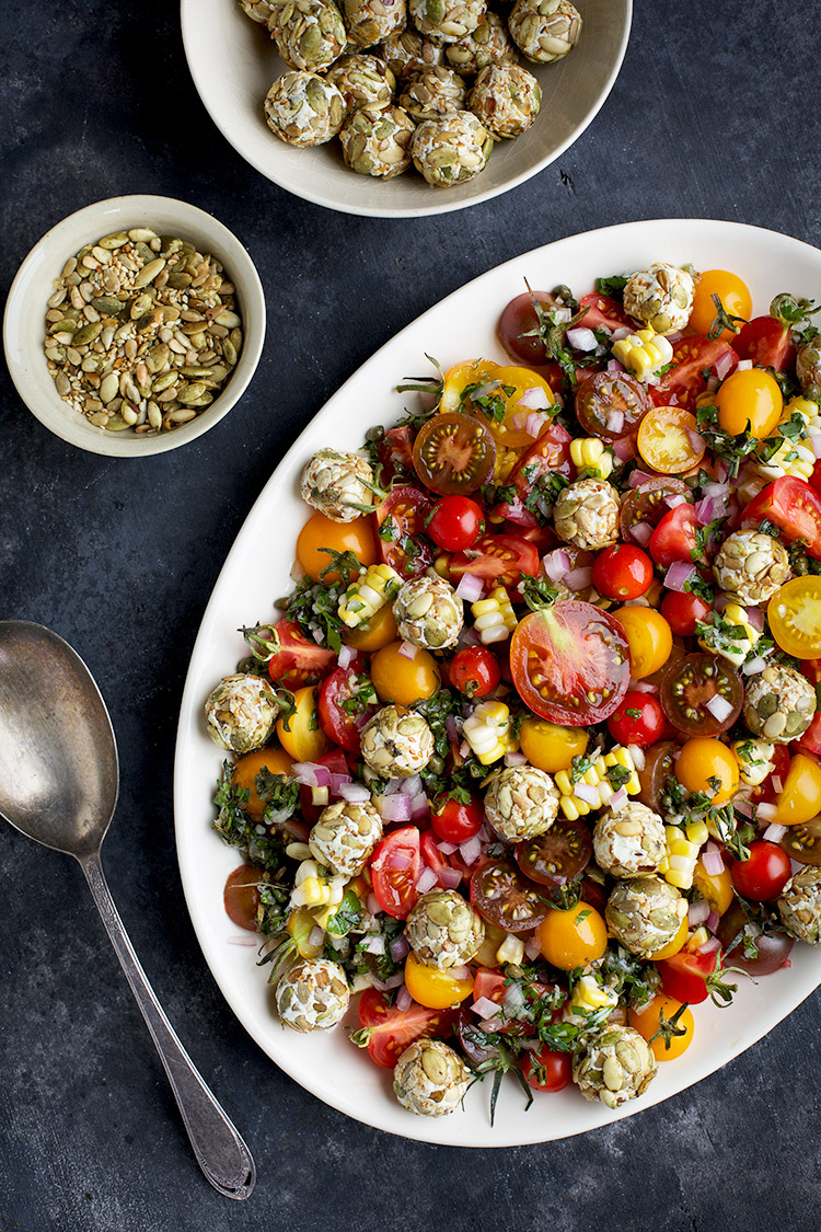 Heirloom Cherry Tomato Salad